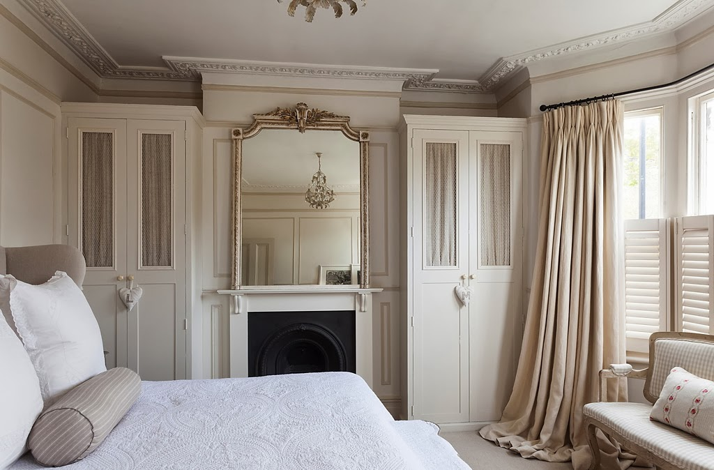 the second bedroom above the original dining room has one of the most