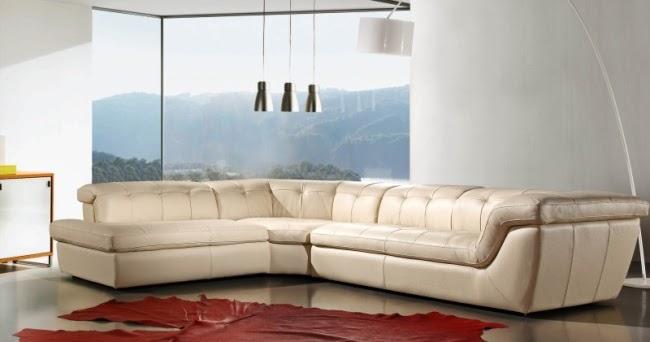 Canap d 39 angle cuir canap fauteuil et divan for Divan et fauteuil