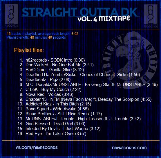 Straight Outta DK, Vol. 4 Mixtape