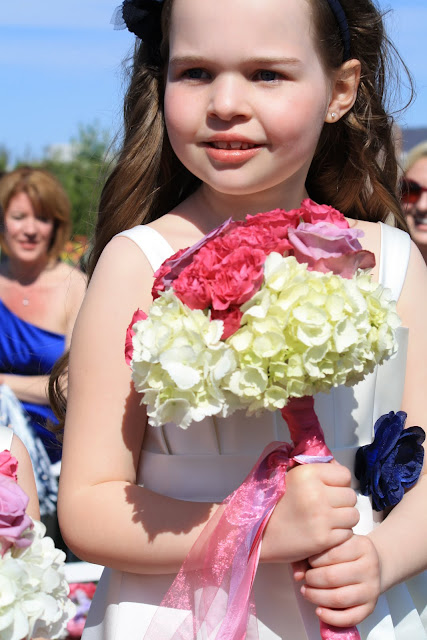Flower Girl Bouquet Wand - Splendid Stems Floral Designs