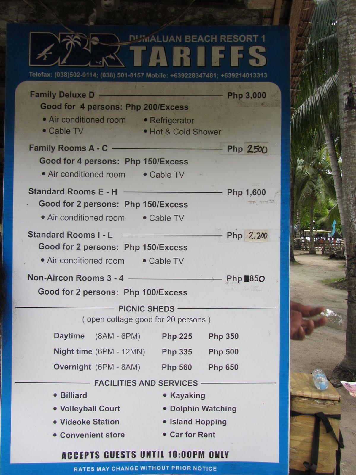La vie magnifique eh Bohol Panglao Tour