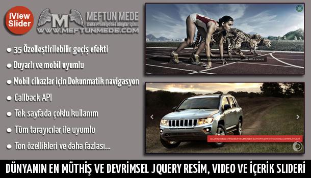 iView jquery resim, video ve içerik slideri