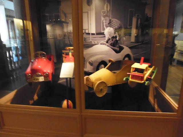 Sala de los juguetes en el Museo Nórdico