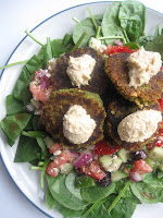 Greek Salad with Falafel