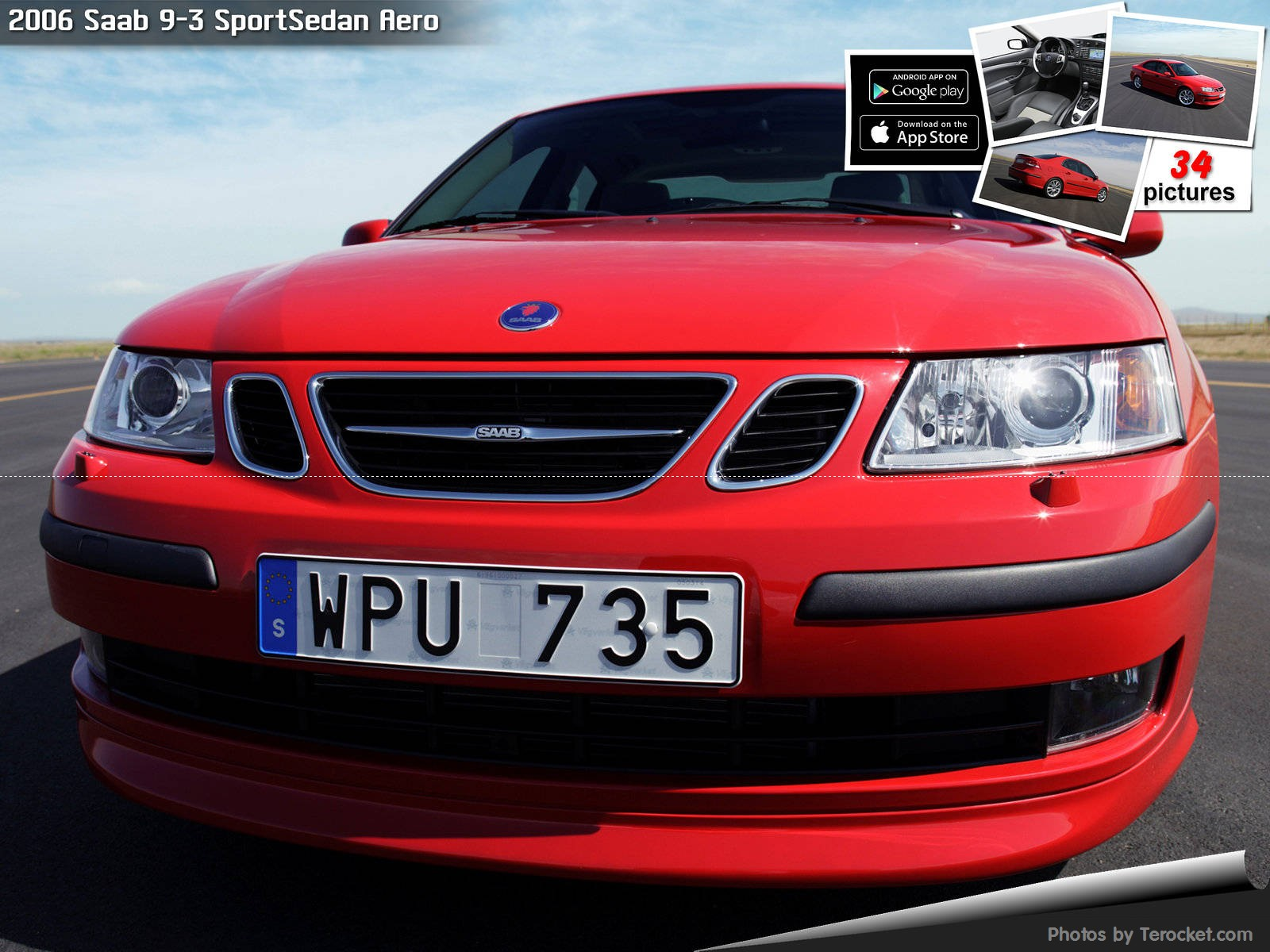 Hình ảnh xe ô tô Saab 9-3 SportSedan Aero 2006 & nội ngoại thất