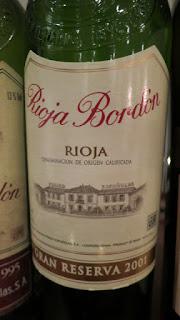 Rioja Bordón Gran Reserva 2001 - DOCa Rioja, Spain (91 pts)