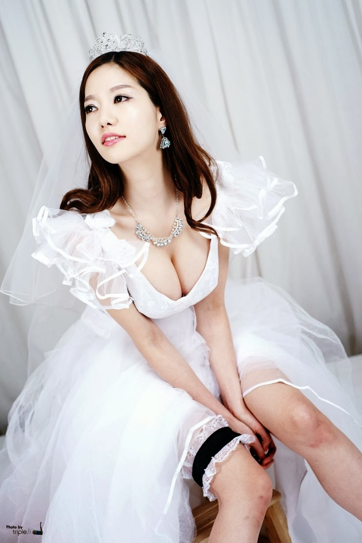 4 Han Ming Young - Weeding dress - very cute asian girl-girlcute4u.blogspot.com