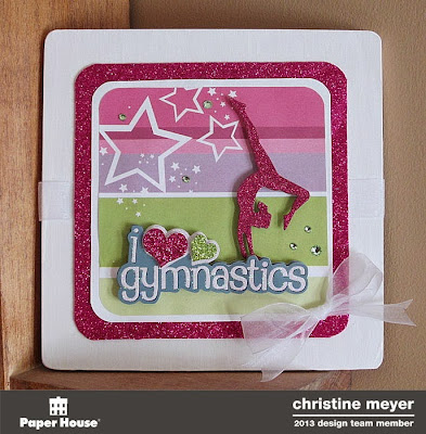 Gymnastics Wall Hanging for Paper House Productions by Christine Meyer