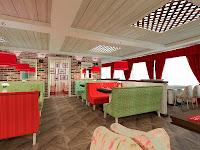 Дизайн ресторана,кафе,бар,Галерея Россо,VIP,Каменск-Уральский