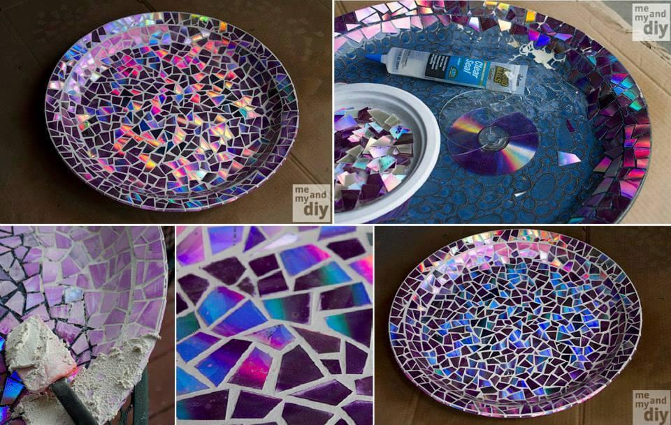 Mela verde news fai da te piatto decorato con mosaico for Mosaico fai da te