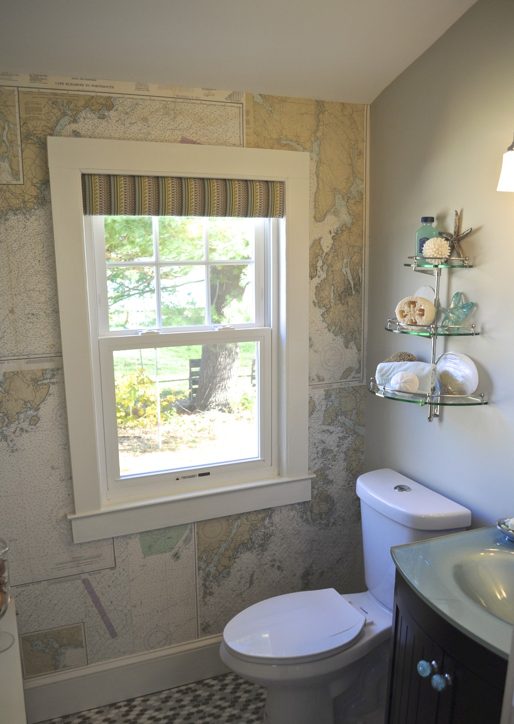 Sopo Cottage Powder Room The Reveal