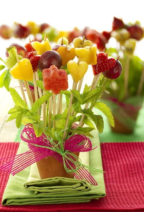 Nutrici nabc ni os platos divertidos con frutas - Cuchillos para decorar fruta ...
