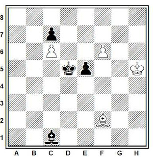 Problema ejercicio de ajedrez número 686: Estudio de D. Buiannemej (1978)