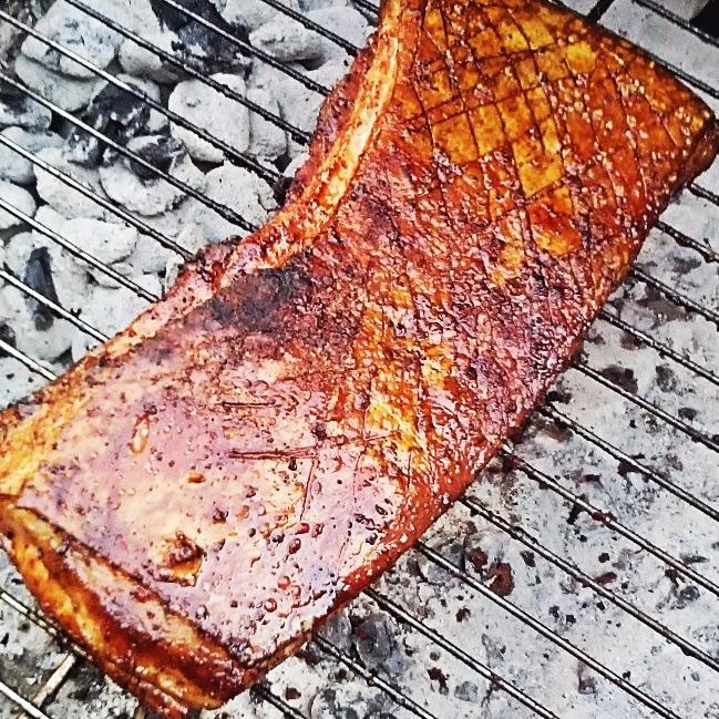 how to make roast pork skin crispy