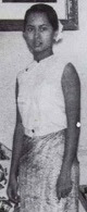 Aung San Suu Kyi, 1965.