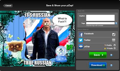 сохранение фотографии в бесплатном онлайн фото редакторе piZap для новичков