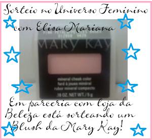 Sorteio de um Blush da Mary Kay