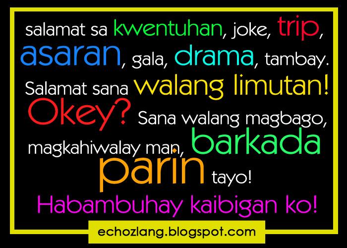 tagalog quotes para sa kaibigan quotesgram