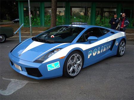 Pada Desember 2004, 2 Lamborghini Gallardos disumbangkan ke kepolisian Italia dalam memperingati HUT kepolisian setempat yang ke-152.