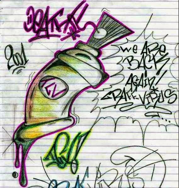 Graffiti creator styles letras de graffiti en bomba - Bombe de graffiti ...