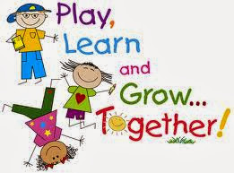 Kids playing learning and growing together