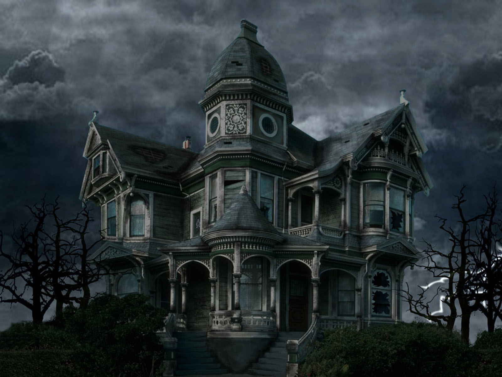 Wallpapers horror house wallpapers for Wallpaper your home