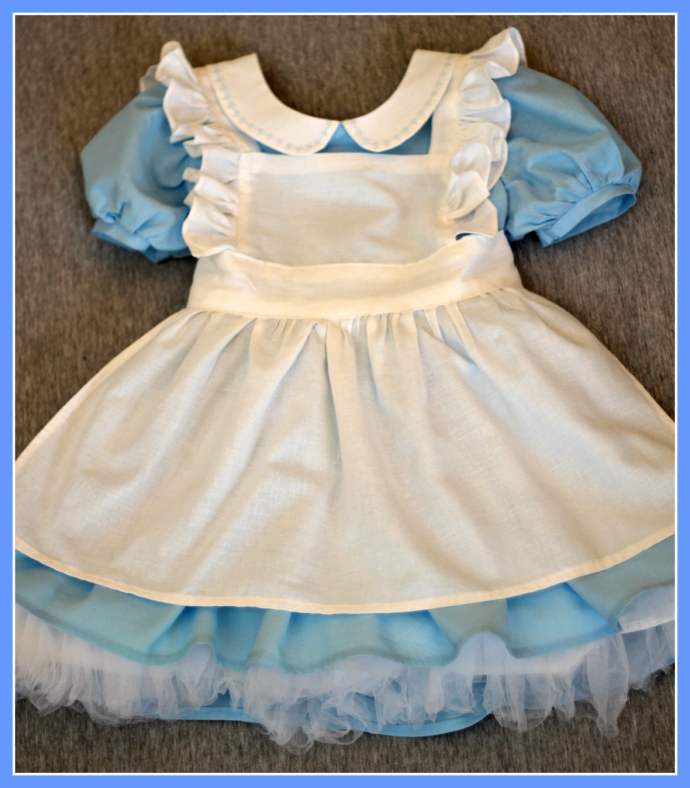 Peaches And Bees Alice In Wonderland Dress For Little Momo