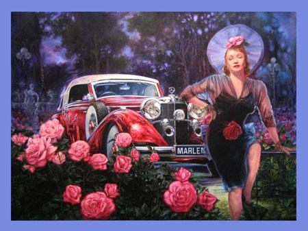 Marlene Dietrich-Mercedes Benz 540K
