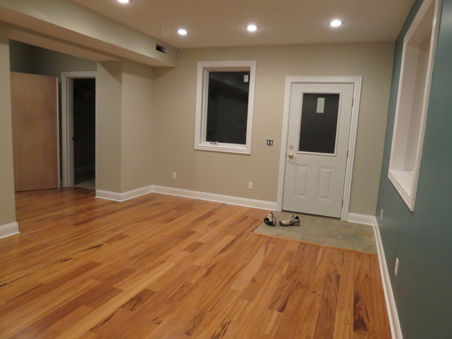 the goal is to establish a place where an exchange of information can occur and be presented in a pertinent manor to potential basement finishing clients