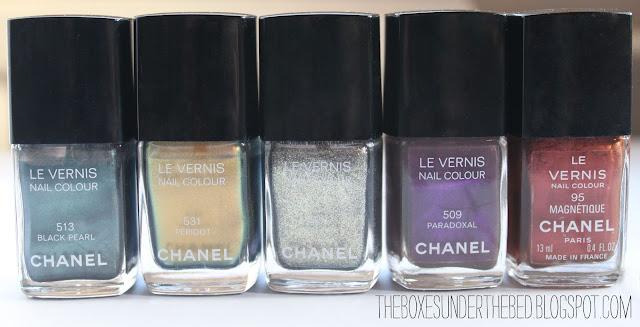 Chanel Black Pearl Chanel Peridot Chanel Graphite Chanel Paradoxal Chanel Magnétique