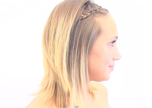 peinados para cabello corto de nias