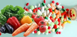 Perbezaan Vitamin Sintetik, Vitamin Organik Dan Vitamin Semulajadi
