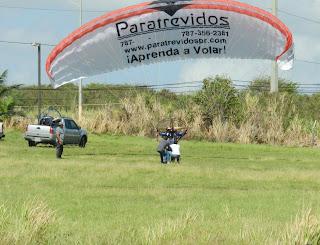 Borijangueo aventura paramotor en puerto rico - Volar a puerto rico ...