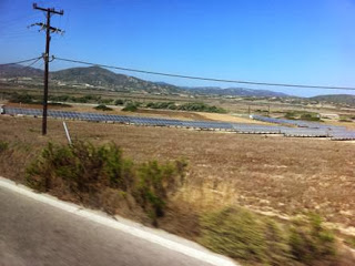 Солнечные батареи в Греции