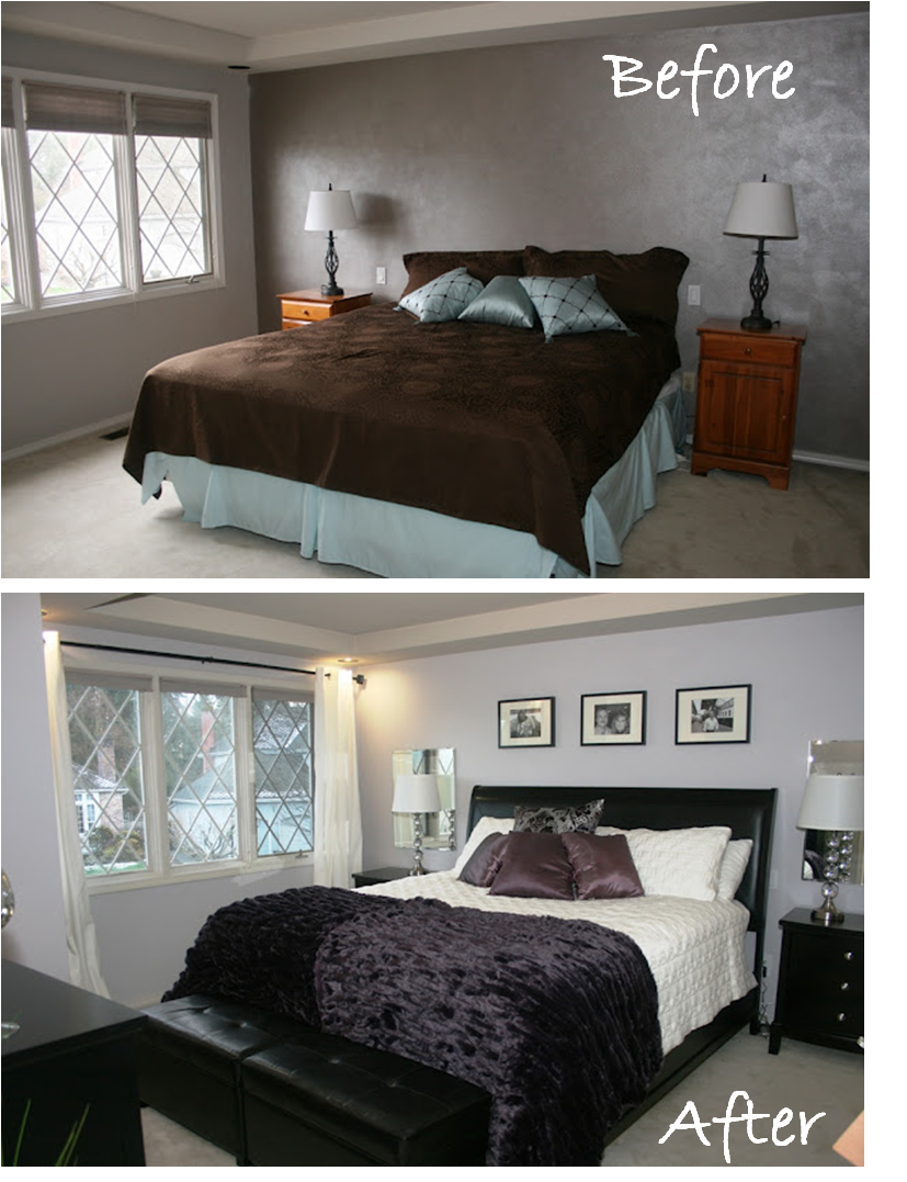 Artsy crafty cool master bedroom makeover for Cool master bedrooms