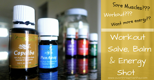 #DIY Workout Solutions: Workout Balm, Workout #salve, and #EnergyShot for #workingout