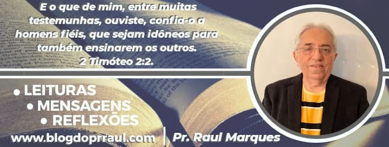 Blog do Pr. Raul