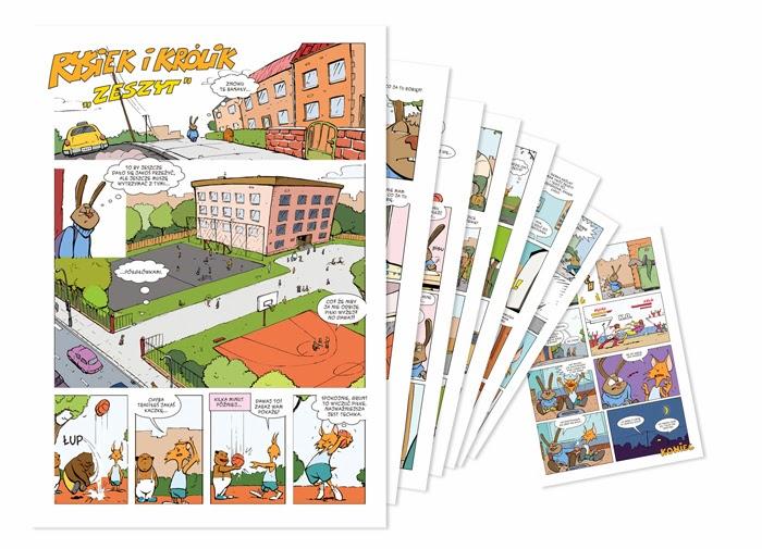 komiks dla dzieci konkurs christy egmont drugie miejsce piotrkowicz budziejewski komiks dla dzieci christa janusz competition comic for children