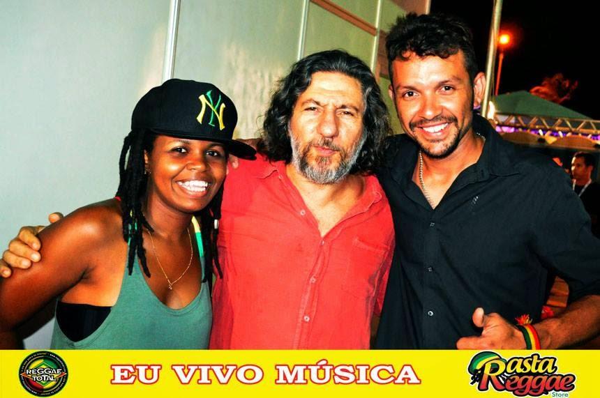 Fauzi Beydoun e o Dj Júnior Brasil