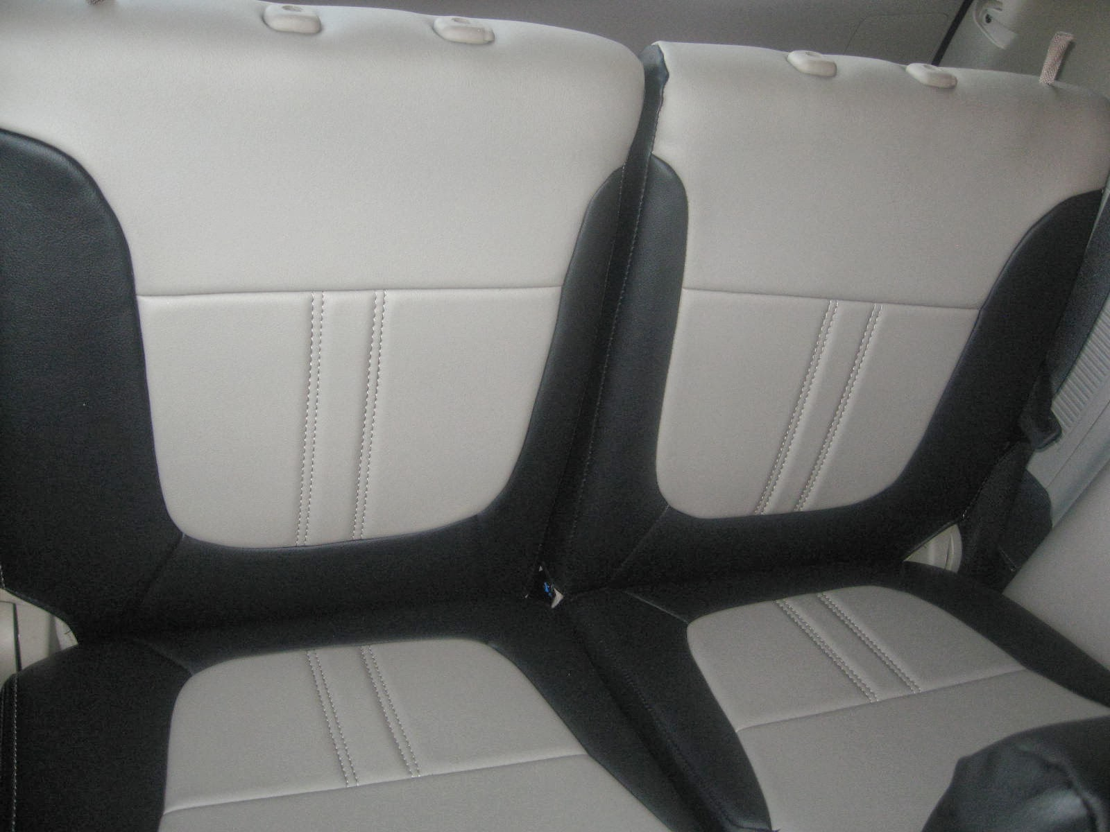 Montero Sport 2013 Leather Seat Covers with Full Interior Protection Kit   VIP CAR INTERIORS ...