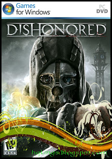 Dishonored PC Game Cover