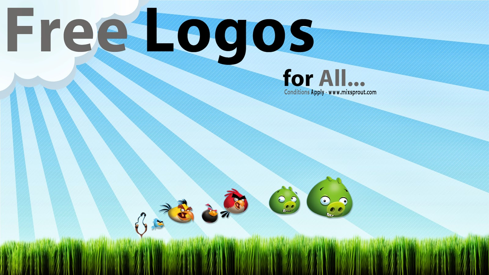 We Are Giving Free Logos Worth 15$-20$ here at Mixsprout, Visit Us at www.mixsprout.com