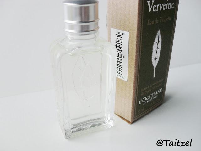 Parfum Verveine:  Verbena Eau de Toilette l'occitane