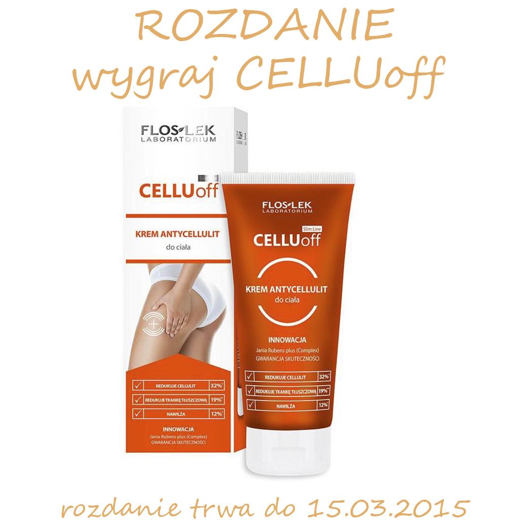 Masz cellulit? nie lubisz go? Weź udział i wygraj krem antycellulitowy CELLUoff od Floslek.
