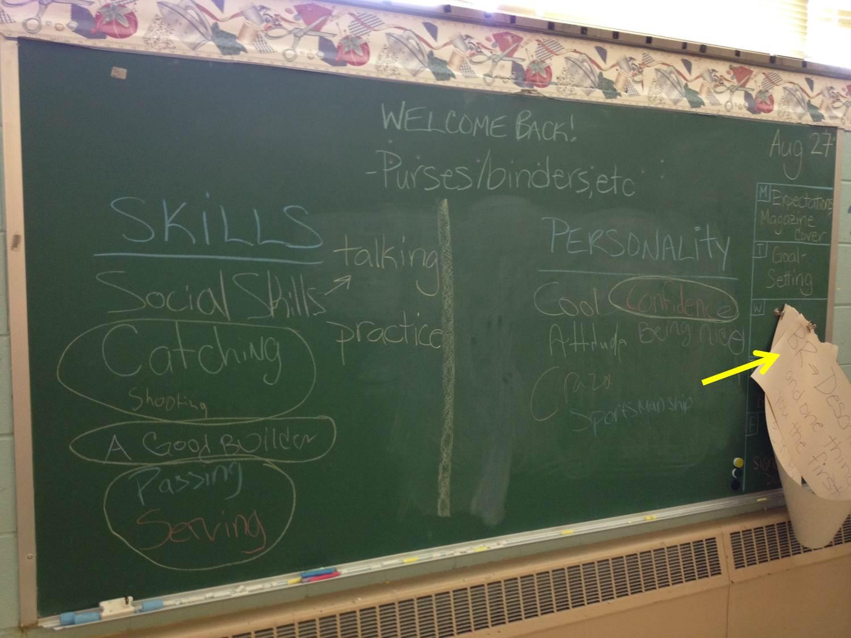 facs classroom ideas june