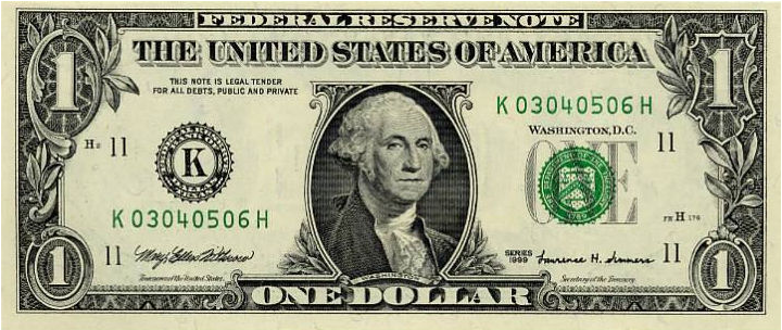 """The Vantage Point: What Does """"One Dollar"""" Mean...?"""