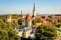 Tallinn Estonia Old Town