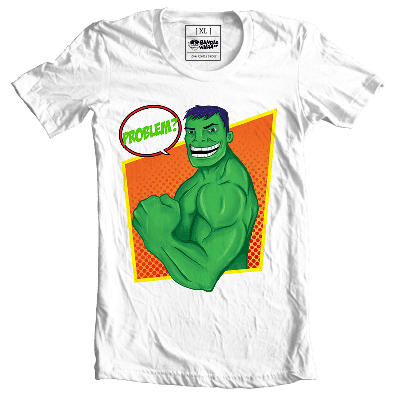 hulk printed cotton tees