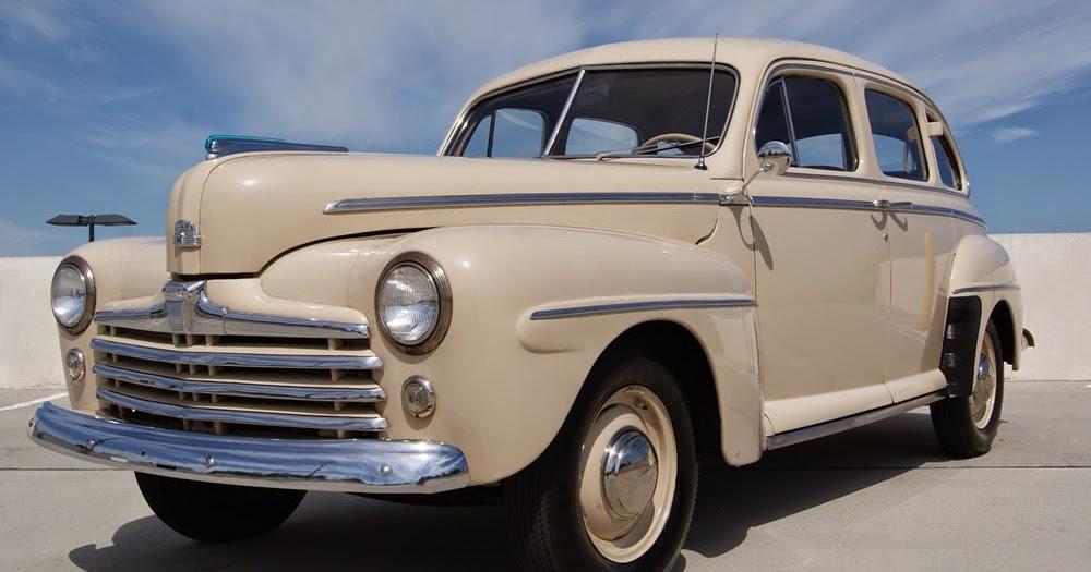 All american classic cars 1947 ford super deluxe fordor 4 for 1947 oldsmobile 4 door sedan