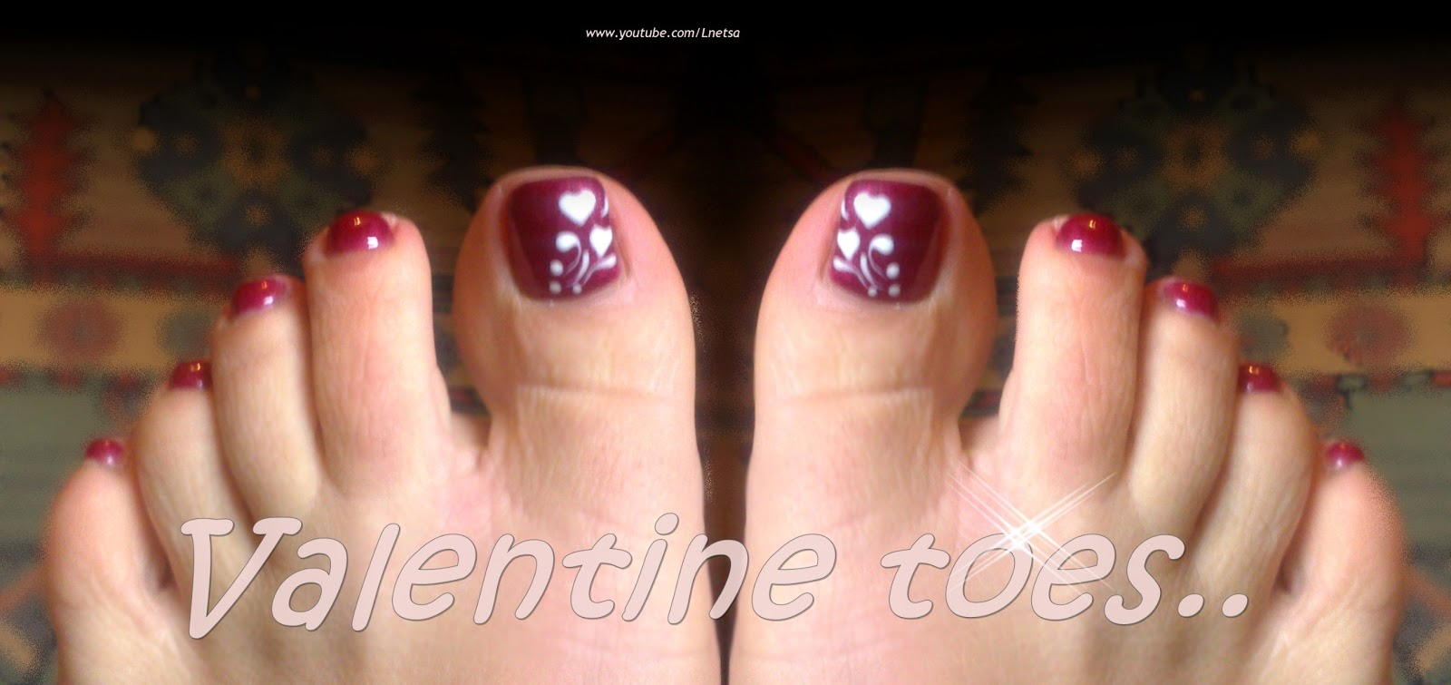 Toe Nail Designs For Valentines The Best Inspiration For Design